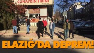 ELAZIĞ'DA DEPREM!