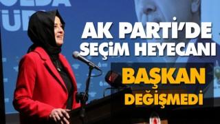 AK PARTİ SAMSUN'DA SEÇİM HEYECANI