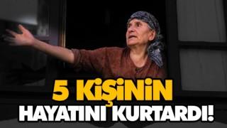5 KİŞİNİN HAYATINI KURTARDI!