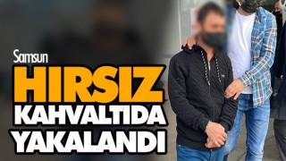 HIRSIZ KAHVALTIDA YAKALANDI