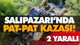 SALIPAZARI'NDA PAT-PAT KAZASI! 2 YARALI